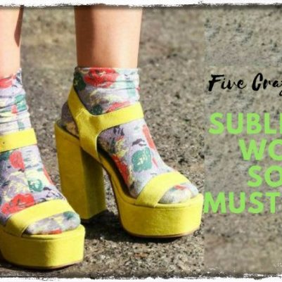 Sublimated Women Socks