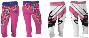 sublimated capri pants