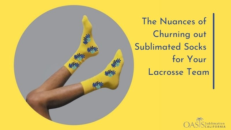 custom sublimation socks