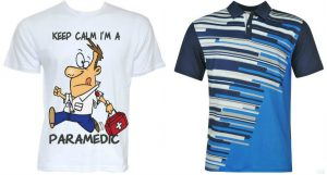 sublimation printed shirts and t-shirts