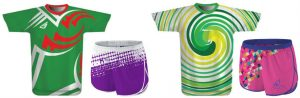 Sublimated Shirts and Shorts