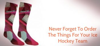 custom ice hockey socks