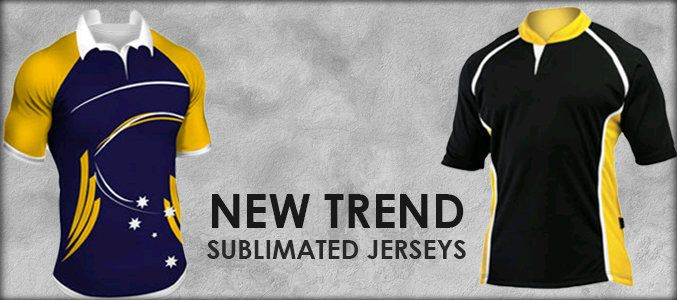 What is the reason behind the popularity of sublimated jerseys?