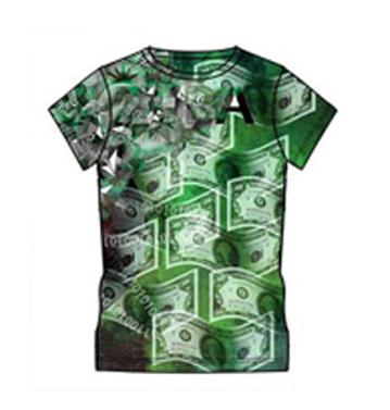 Dollar Printed T-shirt