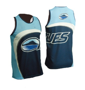 sublimated sportswear muscle tee