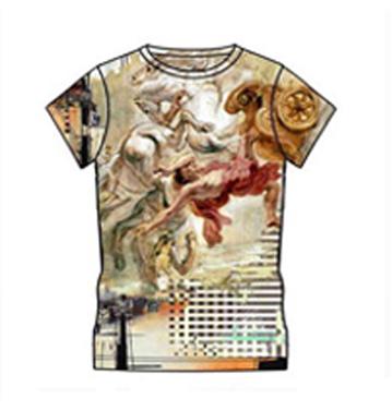 Eccentric Print Custom T-shirt