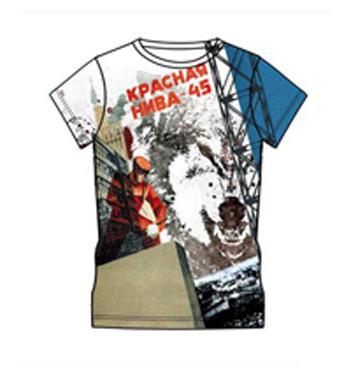 sublimated 3d t-shirt