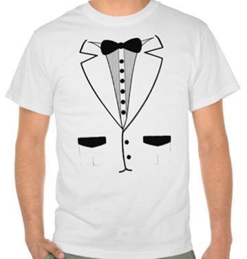 White Novility Shirt for men