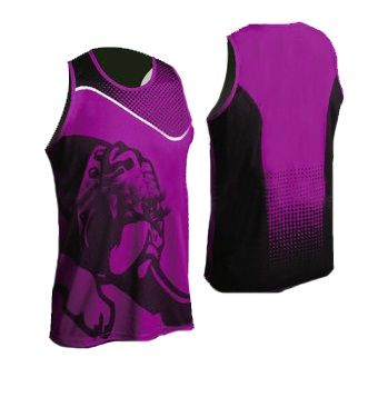 sublimated sportswear tank tee