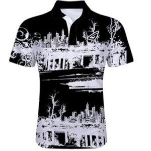 sublimated polo shirt