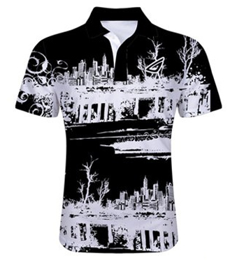 sublimated polo shirt