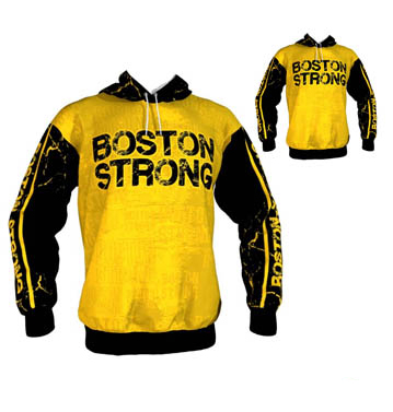 Black and Yellow Peppy Sublimated Hoodie