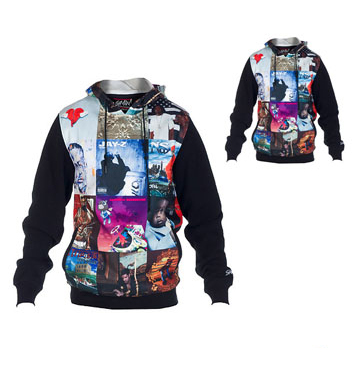 Black Classy Sublimated Hoodie