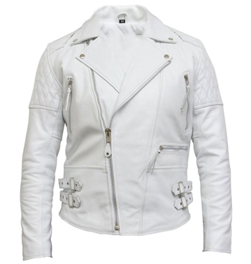 blank bikers leather jacket