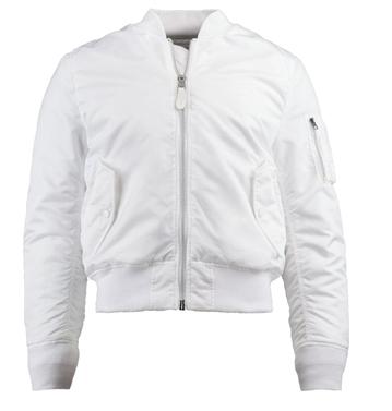 blank bombers jacket