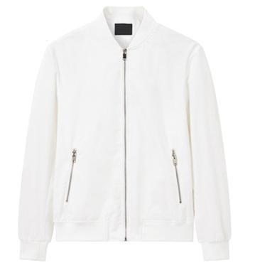 blank collar jacket