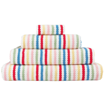 Distributor Colourful Striped Luxury Sublimated Towels