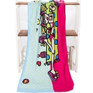Cool Beach Girl Towel
