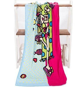 Cool Beach Girl Towel