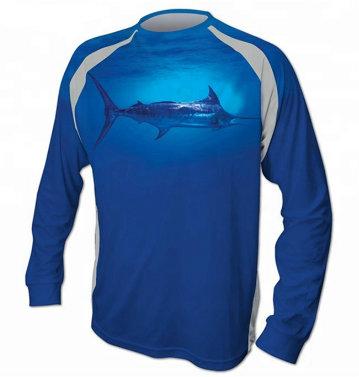 sublimated fishing shirts