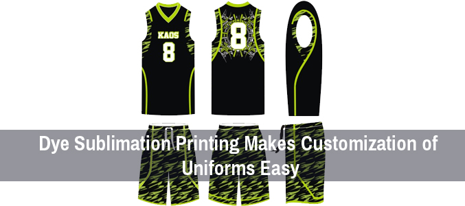 Dye Sublimation Jerseys