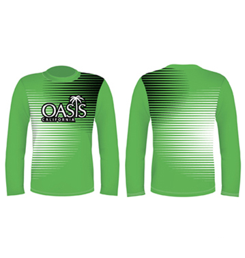 Green Long Sleeved