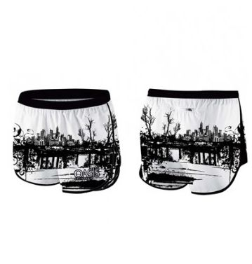 sublimated Running Shorts
