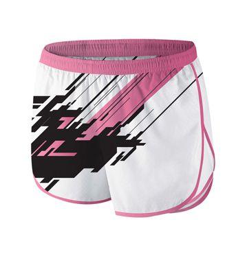 sublimated Running Shorts