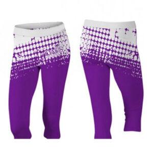 punky purple capri