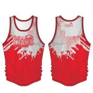 sublimated running singlet