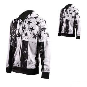 Black and White Sublimated Jacket