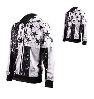 Black and White Sublimated Jacket