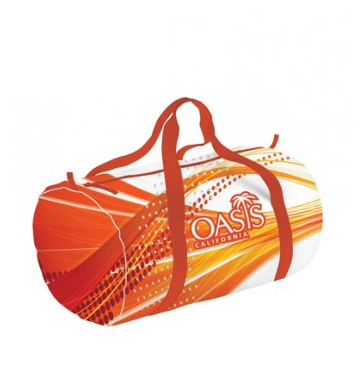 sublimated duffel bags