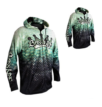 Mint Green and Grey Sublimated Jacket