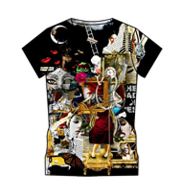 sublimated printed t shirts