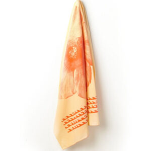 Orange Sublimation Towel