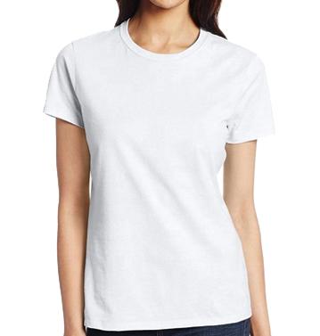 Wholesale Women's Regular Blank Tee i