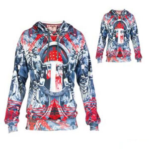 Zesty Multicolored Sublimated Hoodie